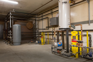 Heat pumps, electric water heaters, and thermal storage at the University of Minnesota Morris